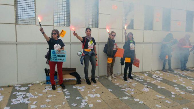 """La plantilla de BSH-Balay se moviliza en protesta por un acuerdo que """"perjudica la autonomía propia sindical"""""""