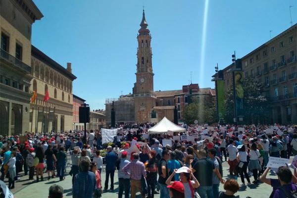 manifestacion Teruel Existe
