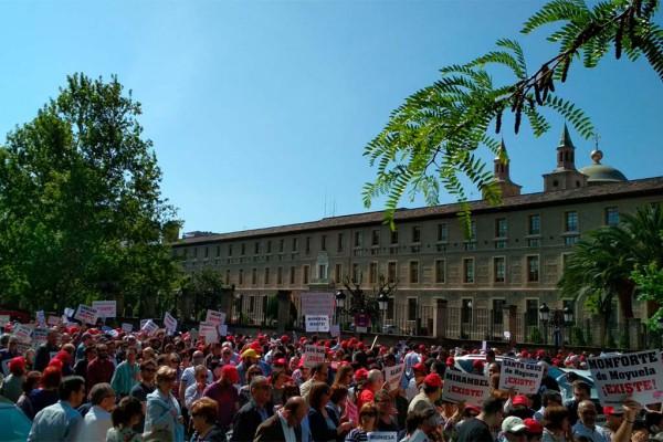 manifestación Teruel Existe