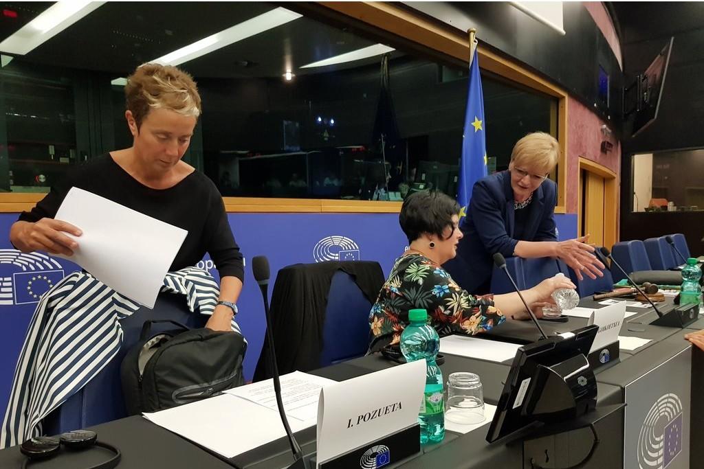 Dos madres de los jóvenes de Altsasu denuncian en Estrasburgo la falta de justicia en el Estado español