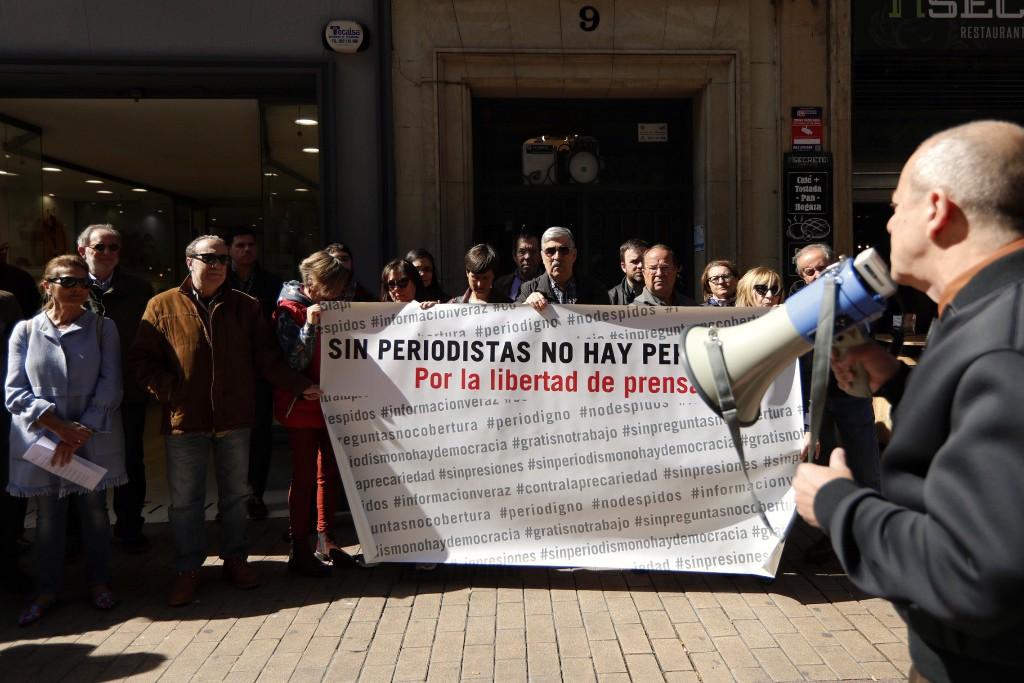 El periodismo aragonés reivindica mayor libertad de expresión