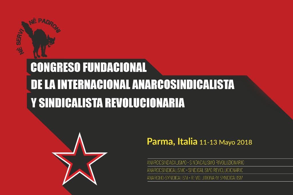 Últimos preparativos para la celebración del Congreso fundacional de la nueva Internacional anarcosindicalista