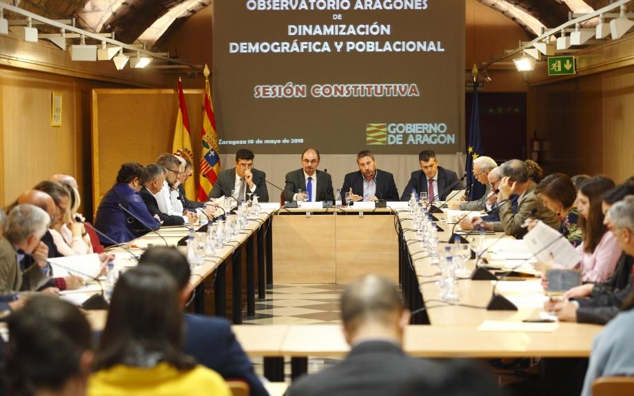 El Gobierno de Aragón pone a funcionar el Observatorio de Dinamización Demográfica