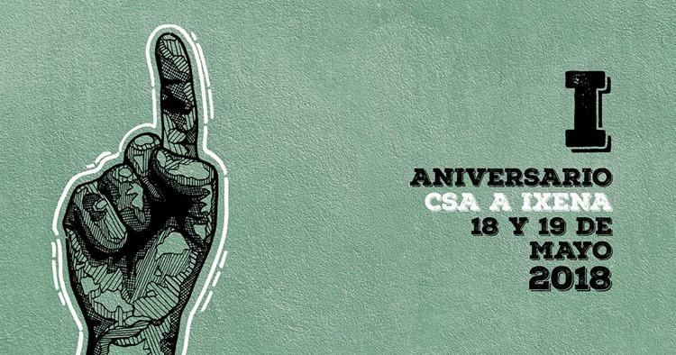 CSA A Ixena de Teruel celebra su primer aniversario con unas jornadas