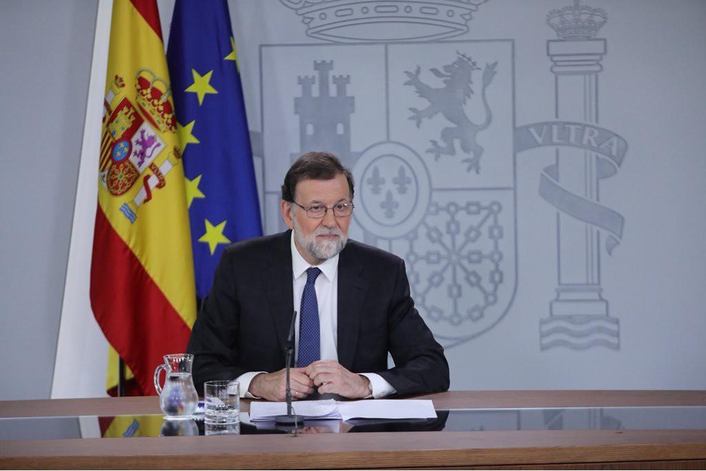 """Rajoy quita hierro a la Gürtel y afirma que la moción de censura """"va contra la estabilidad en España"""""""