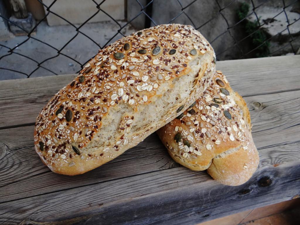 Nueva cata de productos ecológicos en el CRA de Tierz, este jueves pan de Secastilla