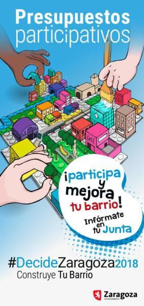 presupuestos participativos zgz flyer