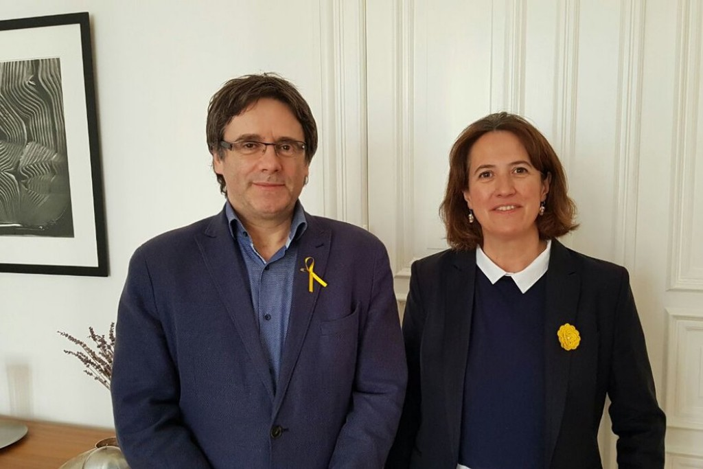 La ANC reitera su apoyo a la investidura de Carles Puigdemont