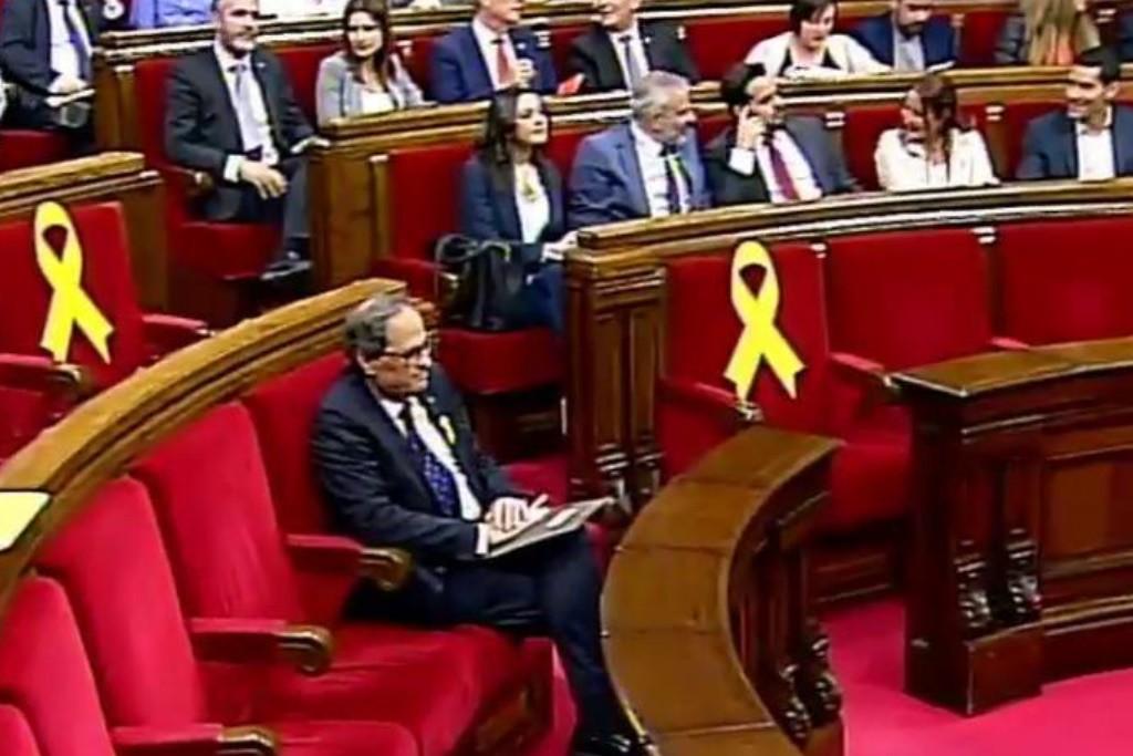 Los servicios jurídicos del Parlament instan al Gobierno español a aceptar el Govern de Torra