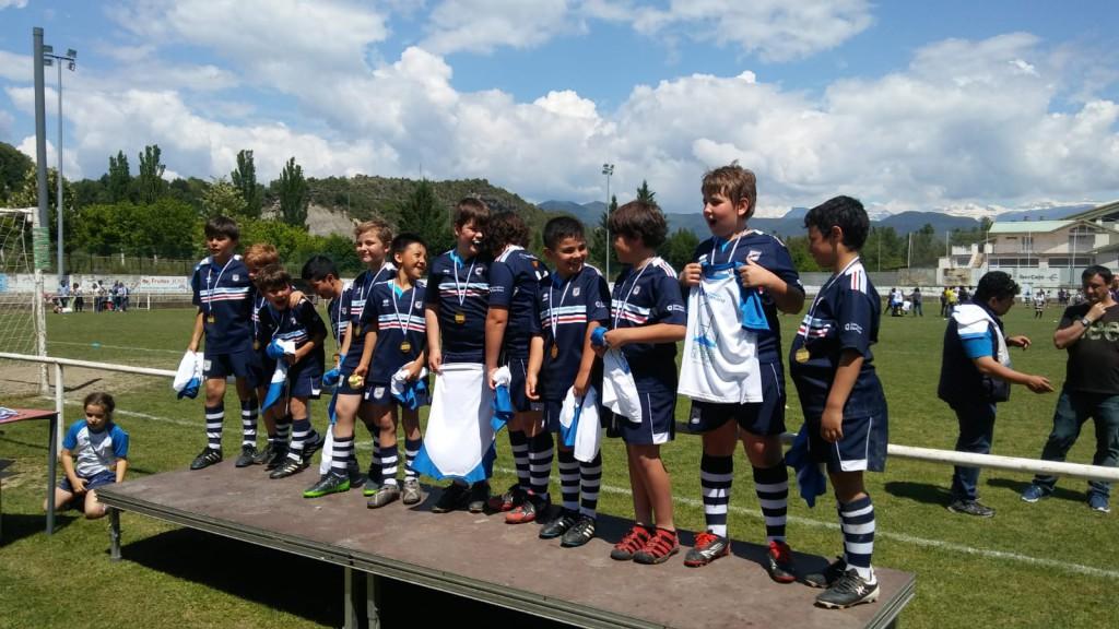 Éxito en el I Torneo de los Pirineos de Rugby