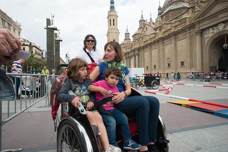 'En bici sin edad', una propuesta de ocio ciclista saludable e intergeneracional