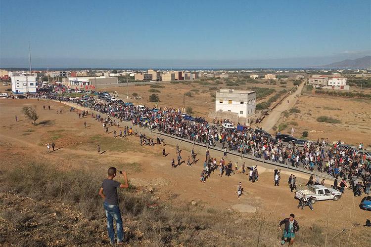 Un tribunal marroquí condena a los líderes rifeños a veinte años de cárcel