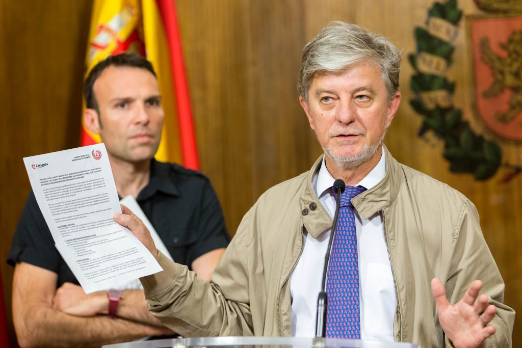 """ZeC emplaza a CHA y PSOE a alcanzar un """"gran acuerdo de izquierdas"""" en el Ayuntamiento de Zaragoza"""