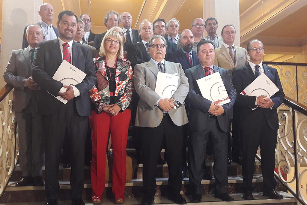 Acuerdo entre las entidades empresariales y los sindicatos mayoritarios para defender las mejoras del ferrocarril en Aragón
