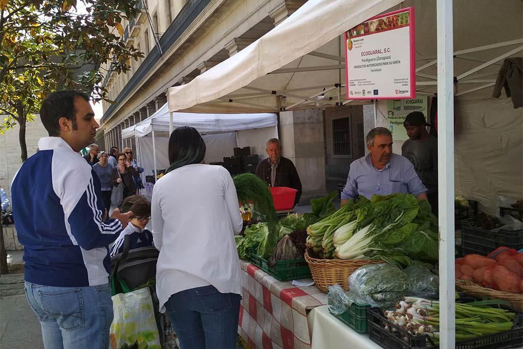 El IX Aniversario de la Muestra Agroecológica de Zaragoza llega este sábado a la Plaza del Pilar
