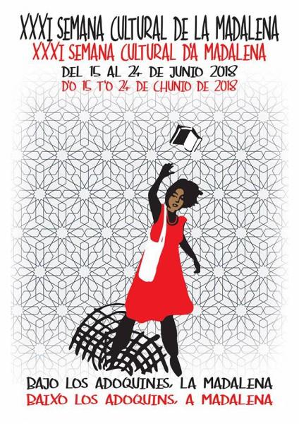 Cartel de la XXXI Semana Cultural de la Madalena.