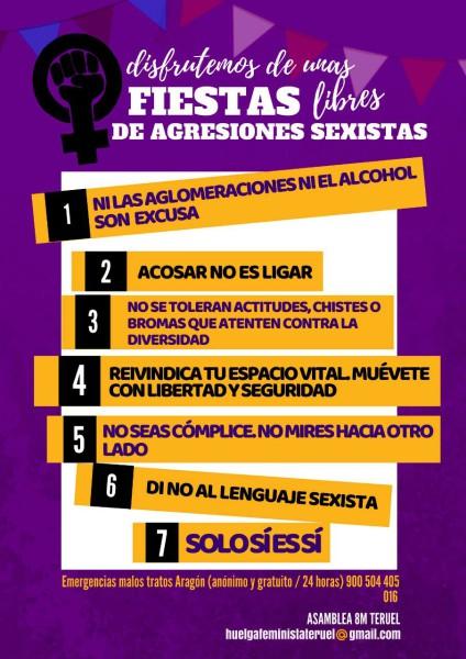 Campaña 8M Teruel