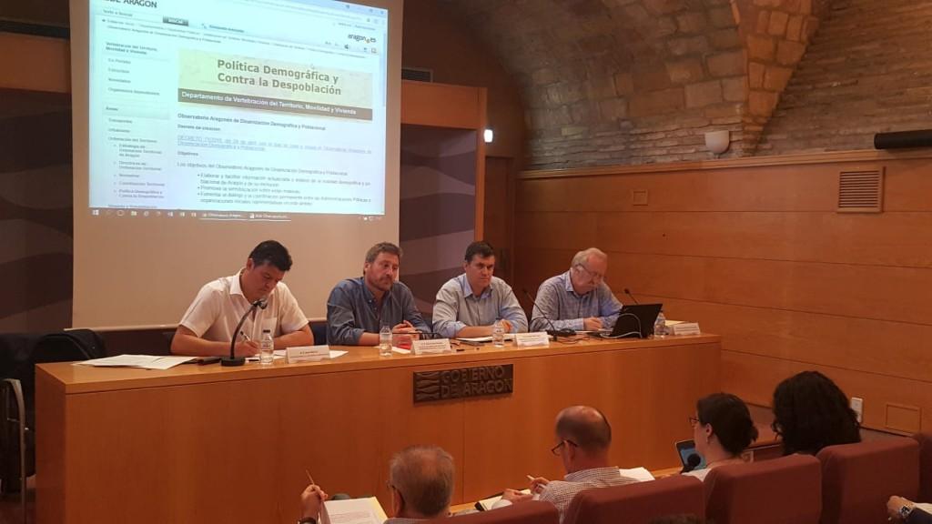 Aragón contará con una web sobre despoblación