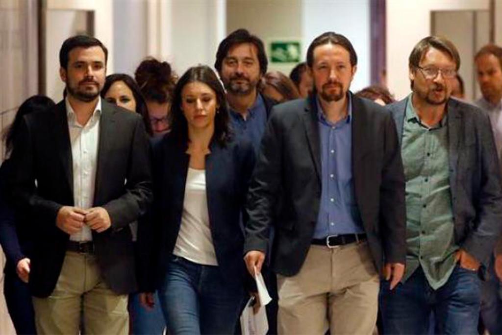 """Podemos, Izquierda Unida y EQUO concurrirán """"unidas"""" en las próximas elecciones"""