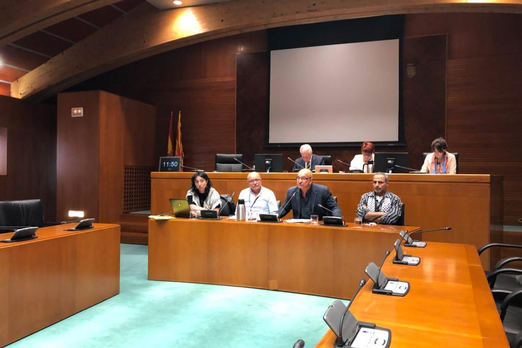 La Casa Palestina pide al PSOE Aragón que siga los pasos del partido en València y apruebe el boicot