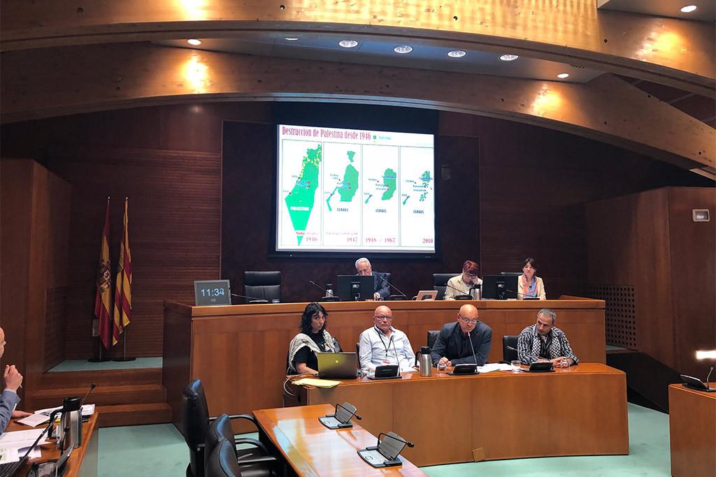 Las Cortes de Aragón barajan la posibilidad de elaborar una Proposición No de Ley sobre el boicot a Israel