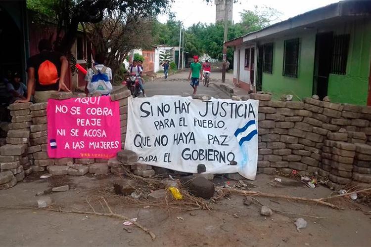 La Caravana de Solidaridad con Nicaragua pasa por Zaragoza para informar de la crisis que vive el país