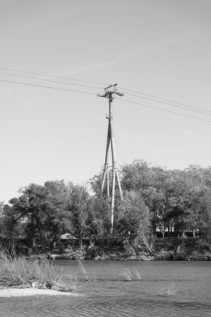 El telesilla no se volvió a emplear. Foto: Pablo Ibáñez (AraInfo)