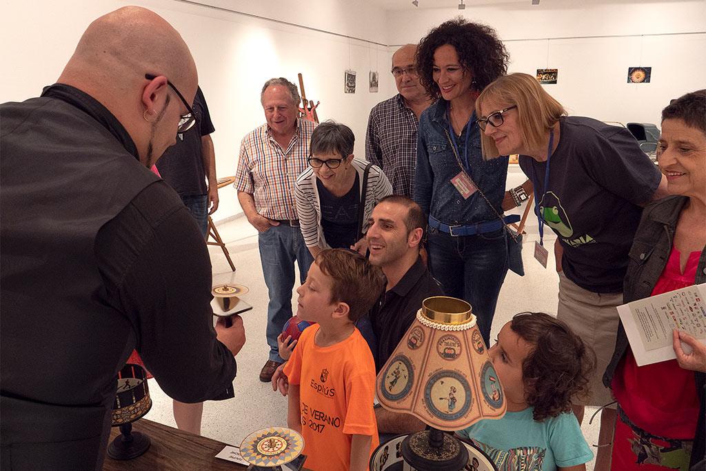 Inauguración del Festival Imaginaria en Binéfar: 50 actividades en torno a los títeres e imagen en movimiento
