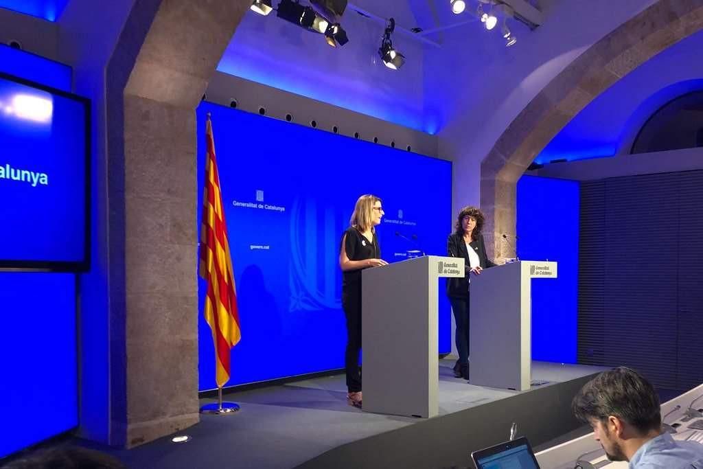 Operación de la Policía Nacional en Catalunya en busca de información sobre el censo del referéndum