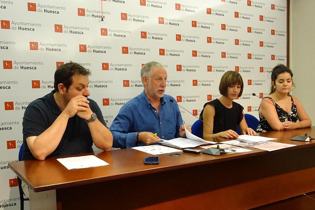 """Uesca celebra el Día Internacional de las Personas Refugiadas """"construyendo acogida"""""""