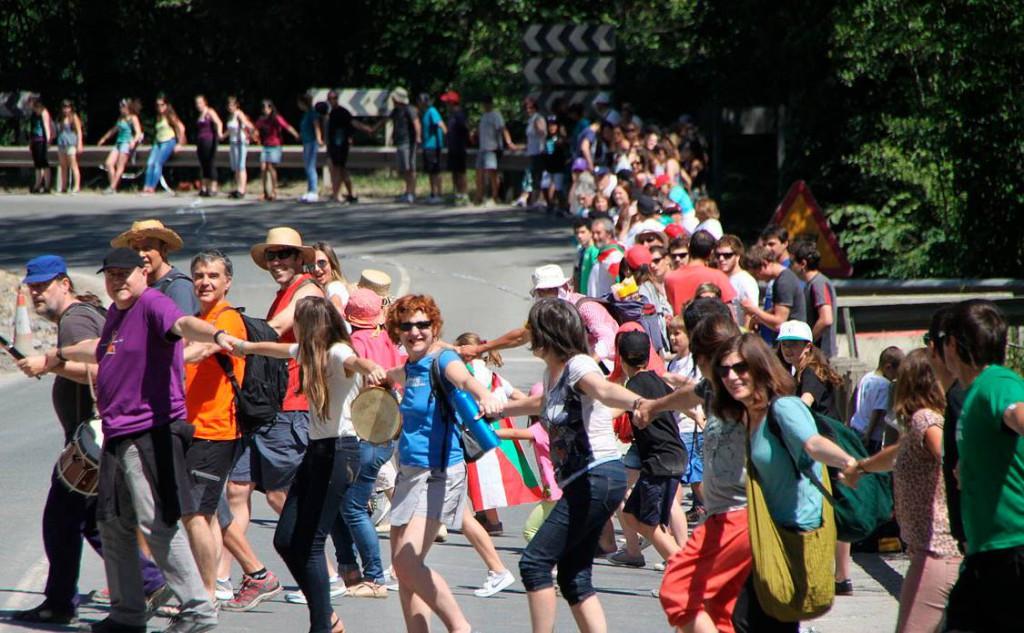 Más de 100.000 razones a favor del derecho a decidir en Euskal Herria
