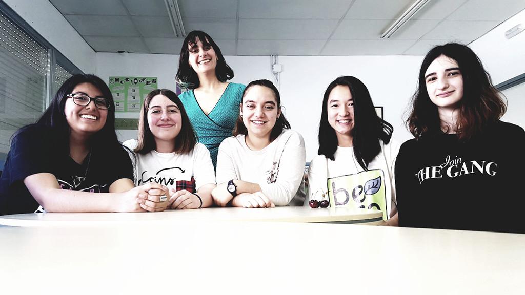 Del salto de frecuencia de Hedy Lamarr a la aplicación BeEco de las jóvenes científicas del IES Pablo Gargallo