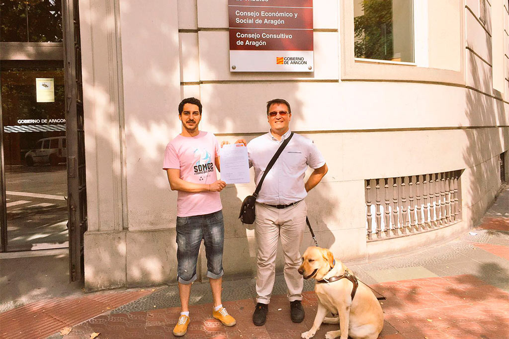 Registran una propuesta para reservar plazas a personas trans en la administración aragonesas