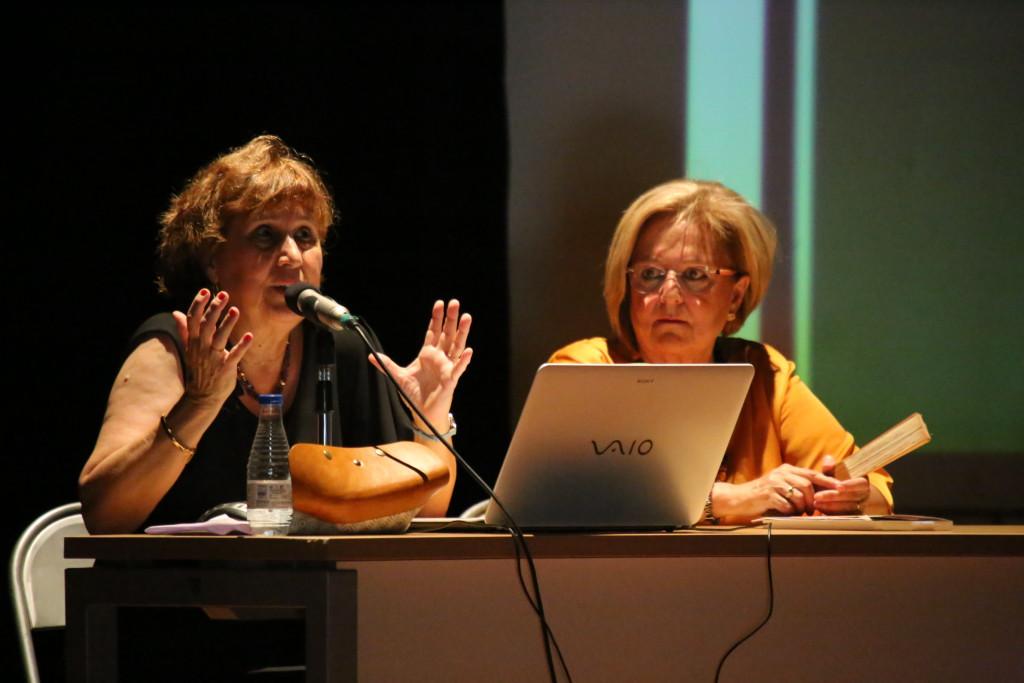 """Paquita Vilella presenta """"Objetos con historia"""" en su Mequinensa natal"""