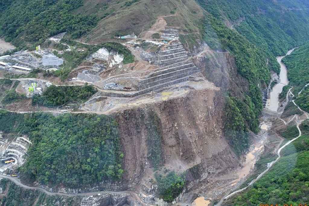 BBVA y Banco Santander financian un megaproyecto hidroeléctrico en Colombia que vulnera los derechos humanos