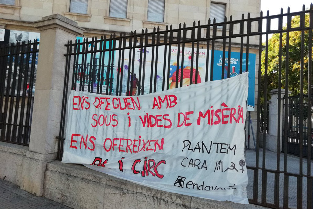 La CUP muestra su «total discrepancia» con la celebración en Tarragona de los XVIII Juegos Mediterráneos