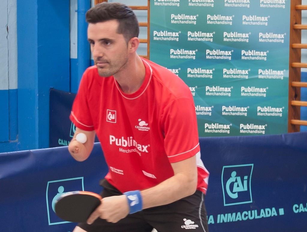 José Manuel Ruiz vuelve a reforzar al Publimax CAI Santiago de tenis de mesa