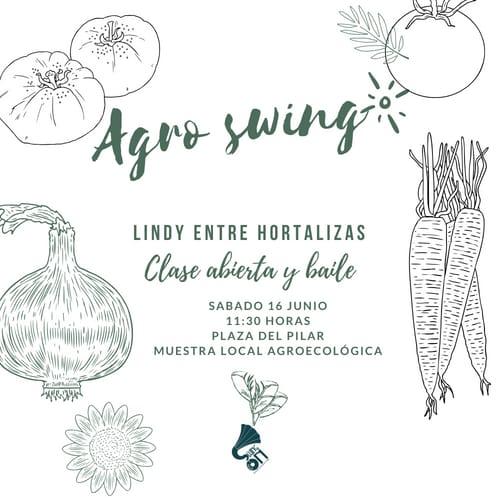 Lindy entre hortalizas