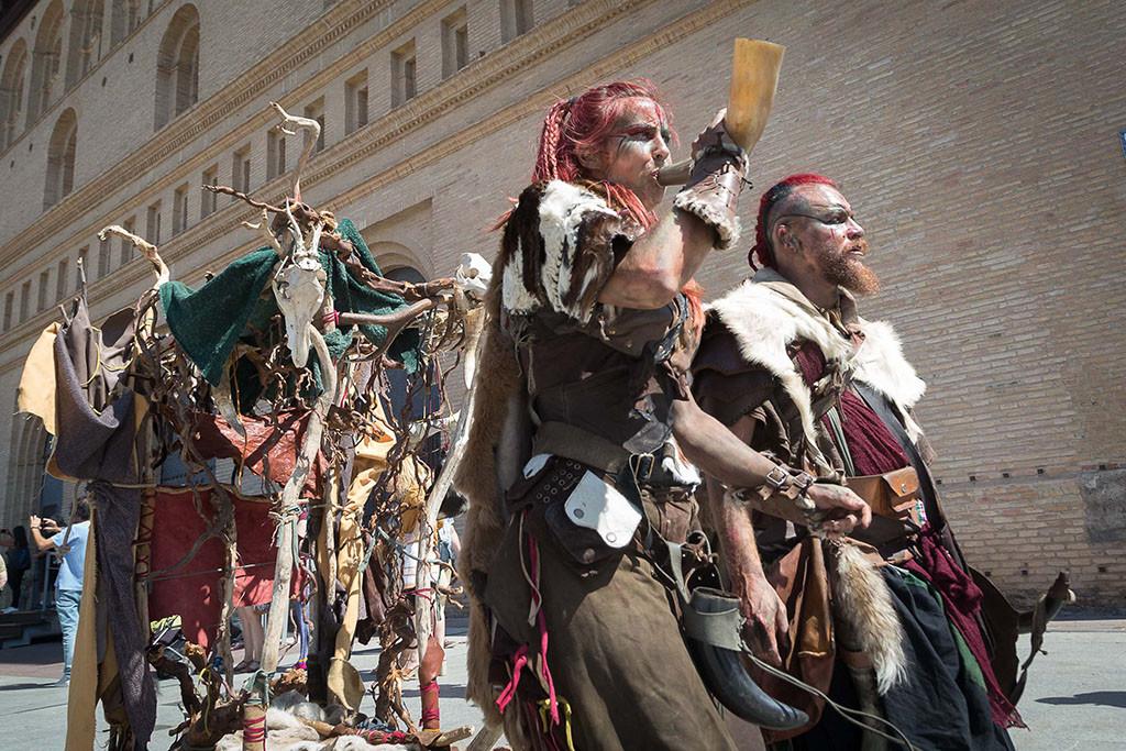 Zaragoza viaja en el tiempo con una nueva edición del Mercado Medieval de las Tres Culturas