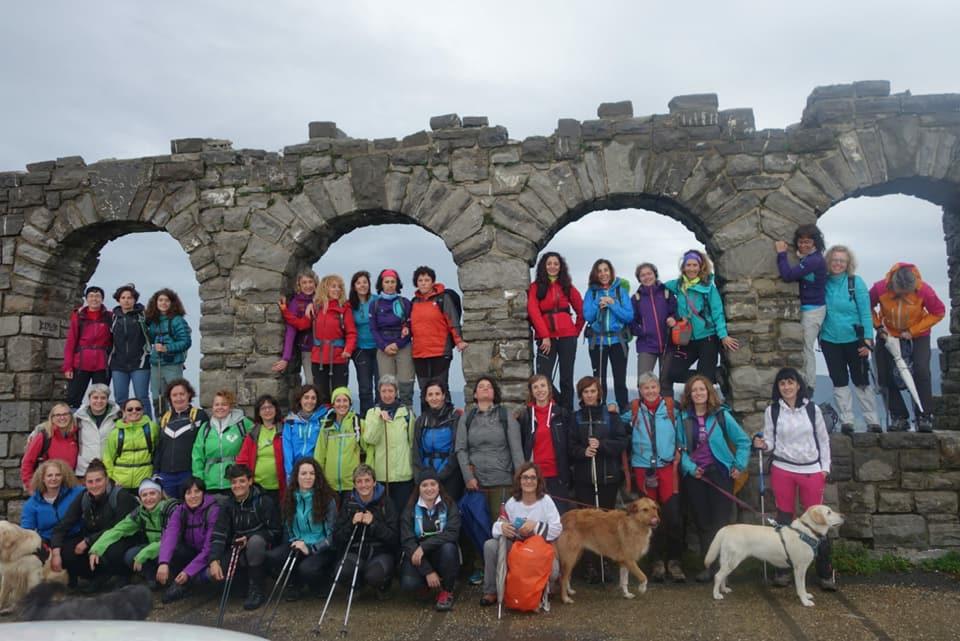 Presentación oficial de Montañeras Adebán, un club deportivo gestionado y promovido por mujeres