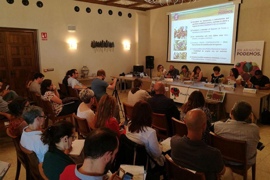 """Podemos presenta sus propuestas para una nueva PAC """"más justa, coherente y al servicio de un medio rural vivo"""""""