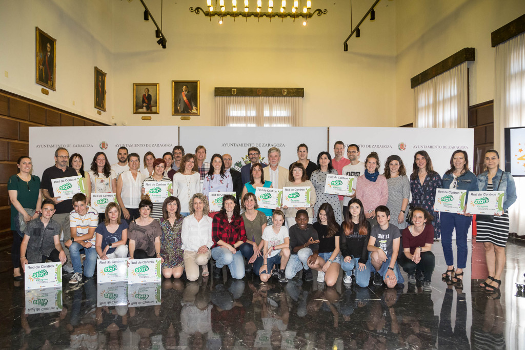 Zaragoza reconoce la promoción de la movilidad activa de 18 centros educativos a través del proyecto STARS