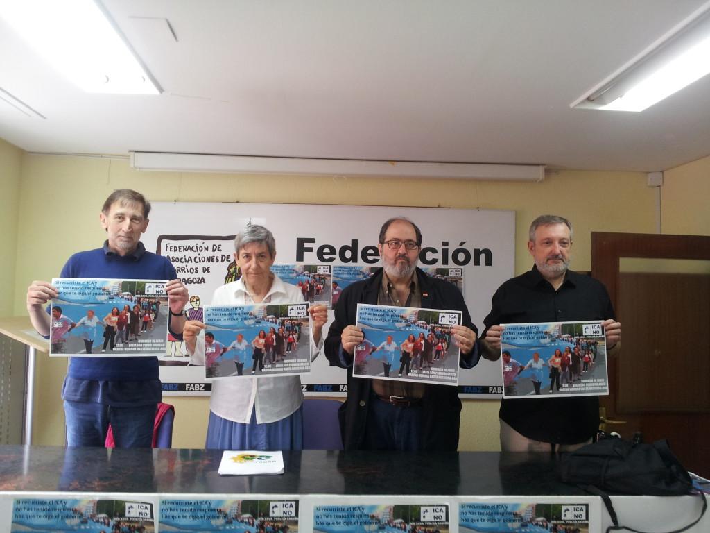 La RAPA convoca una cadena humana en defensa de la gestión pública del agua y por la supresión del ICA