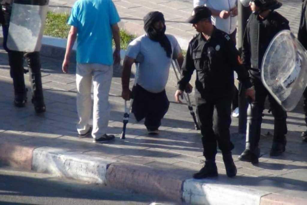Manifestaciones y represión ante la llegada del enviado de la ONU al Sahara Occidental