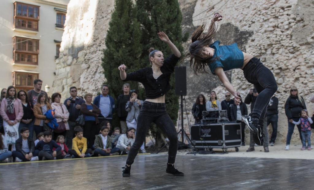 Drones y cuatro premios estatales de danza para celebrar los 15 años del Festival Trayectos en Zaragoza