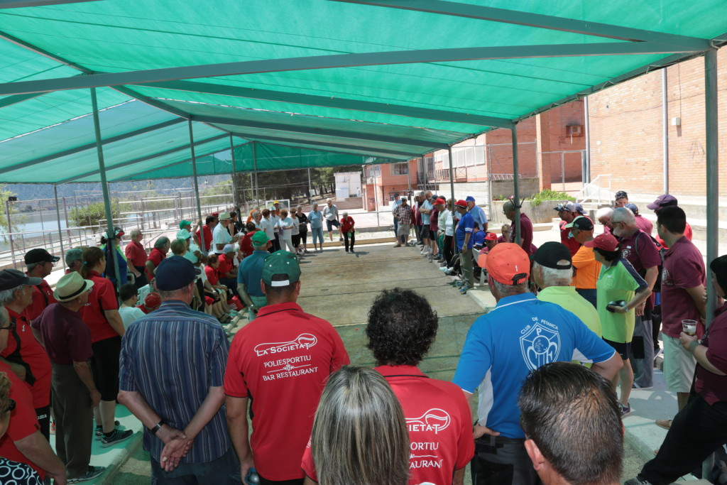El XXII Encuentro de Petanca de Mequinensa reunirá a tripletas de 18 localidades catalanas y aragonesas