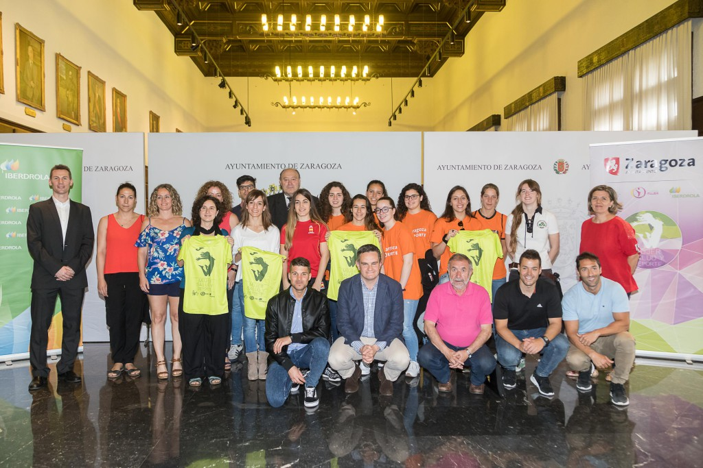 El deporte femenino se convierte en protagonista en la plaza del Pilar los días 23 y 24 de junio