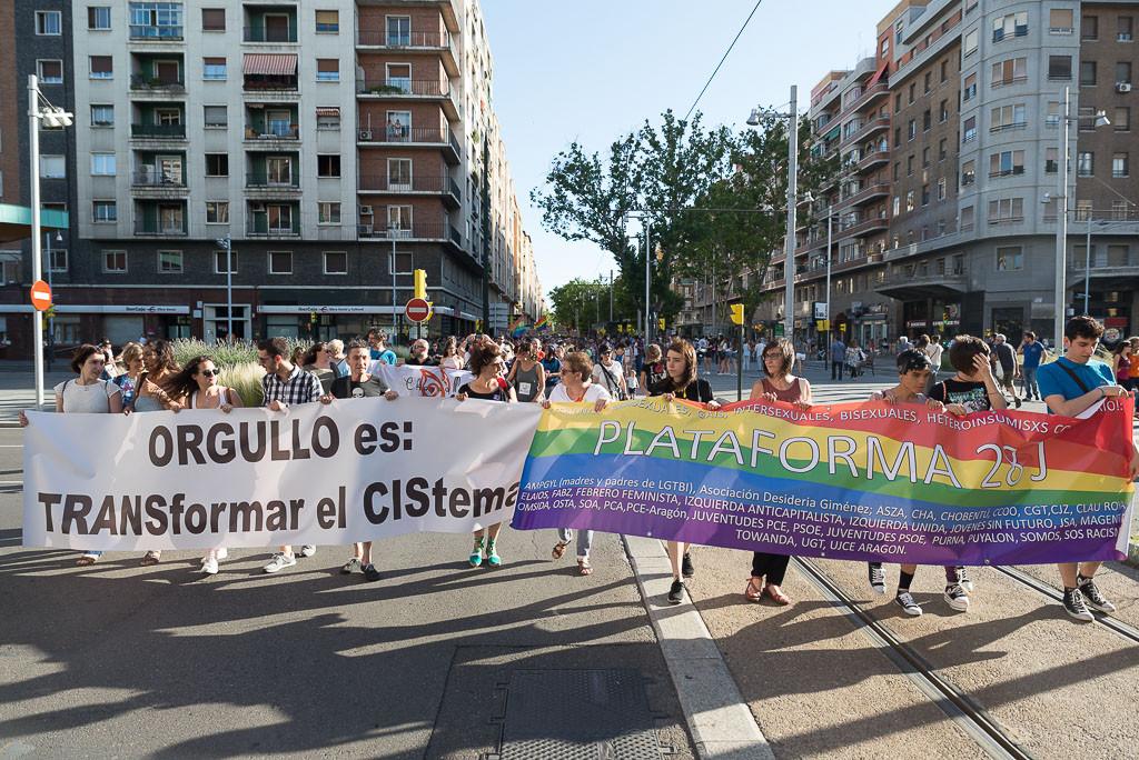 IU Aragón condena la discriminación y las agresiones LGBTIfóbicas y reclama una ley integral trans y LGTBI estatal