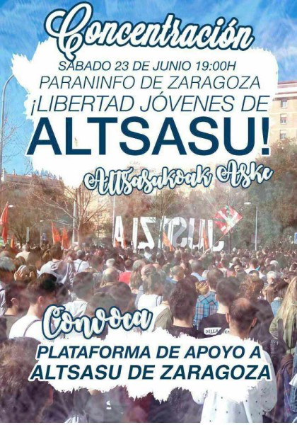 Foto: Plataforma de Apoyo a Altsasu