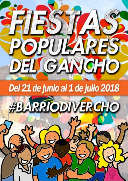 cartel-fiestas-populares-del-gancho-2018-barriodivercho
